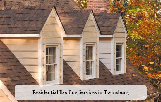 roof photo of a beautiful house in Twinsburg OH