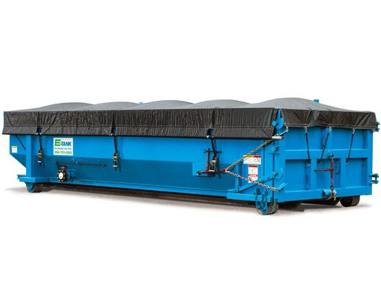Tarp Top Dewatering Box