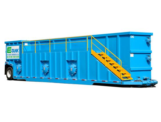 18,000-Gallon Weir Tank