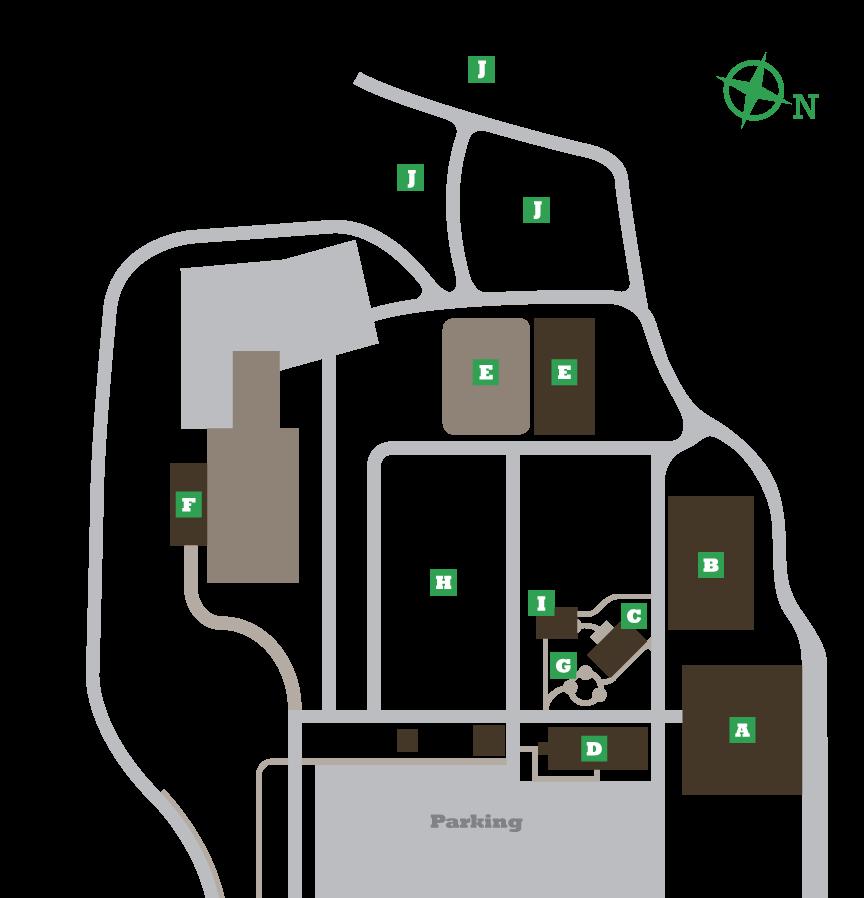 Harvest Ridge Campus Map